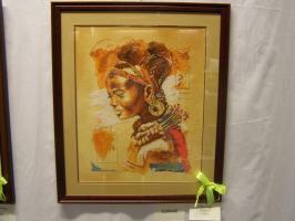 14Különdíj, Valkai Anikó, Afrikai nő.JPG